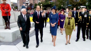 Official ceremony welcomes royal couple