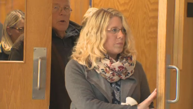 On Thursday, former elementary school teacher Amy Hood apologized in court for committing sex crimes against former students.