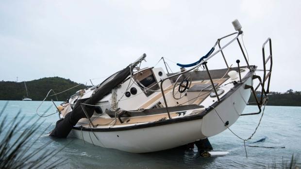Hurricane Nicole in Bermuda