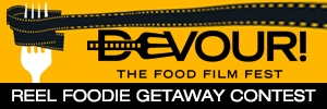 Reel Foodie Getaway Contest button
