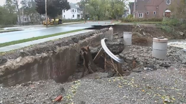 There is still much work to be done fixing infrastructure damaged by last week's Thanksgiving storm.