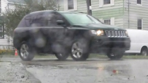 More heavy rain and high winds hit Cape Breton on Saturday.