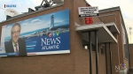 CTV Atlantic: Man takes protest to roof of CTV