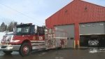 A new fire station has been built in Millville, N.B., after its previous one burned down in a suspicious fire.