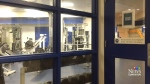 Hidden camera discovered inside gym