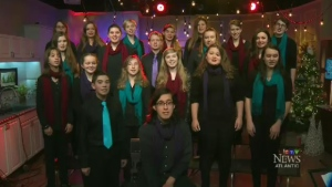Musical performances were getting Maritimers in the Christmas spirit.
