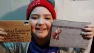 Hailey Rodenhiser has been battling cancer for the past two years. Her mother asked the public to send her Christmas cards to lift her spirits this year.