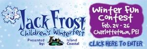Jack Frost Winter Fun Contest button