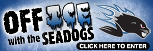 Off Ice With The Sea Dogs Contest button