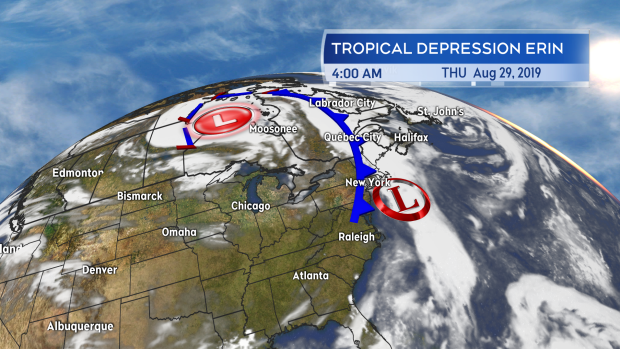 One-two punch of weather systems coming to hit the Maritimes