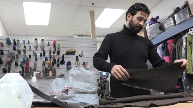 Former Syrian refugee uses tailoring skills to stitch together new life in N.S.