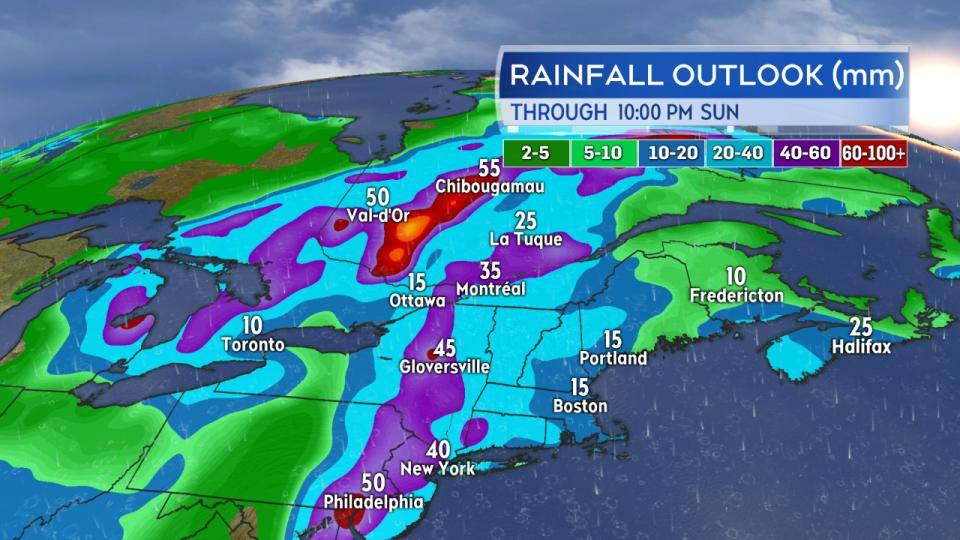 Rainfall Outlook Eastern