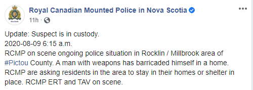 RCMP NS Facebook
