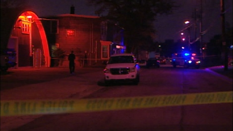 Halifax Regional Police are investigating a double shooting in the north end of the city Friday evening.  The incident left one man dead and sent another to hospital.