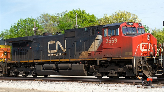 Canadian National Railway slightly beat expectations as it earned net income of $555 million in the first quarter on a five per cent increase in revenues.
