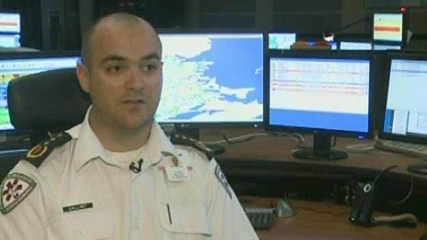Ambulance NB dispatcher Joel Gallant used the Find My Phone app to find three lost hikers.