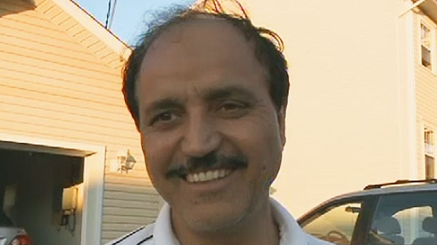 Mohammad Fida says he is relieved his daughter has been found safe.