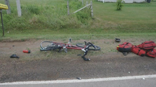 Cyclist Elizabeth Sovis died after being struck by a van on Rennies Road. (Photo courtesy of the RCMP)