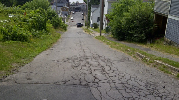 Steven Duplessis says he and his girlfriend were driving down Constitution Street – one of the steepest streets in the Maritimes – around 7:30 p.m. Tuesday when the nightmare began.