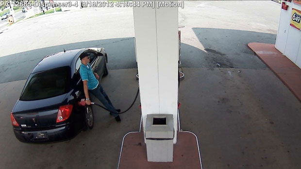 Police say this man stole gas from the Petro-Canada on Kearney Lake Road on two separate occasions.