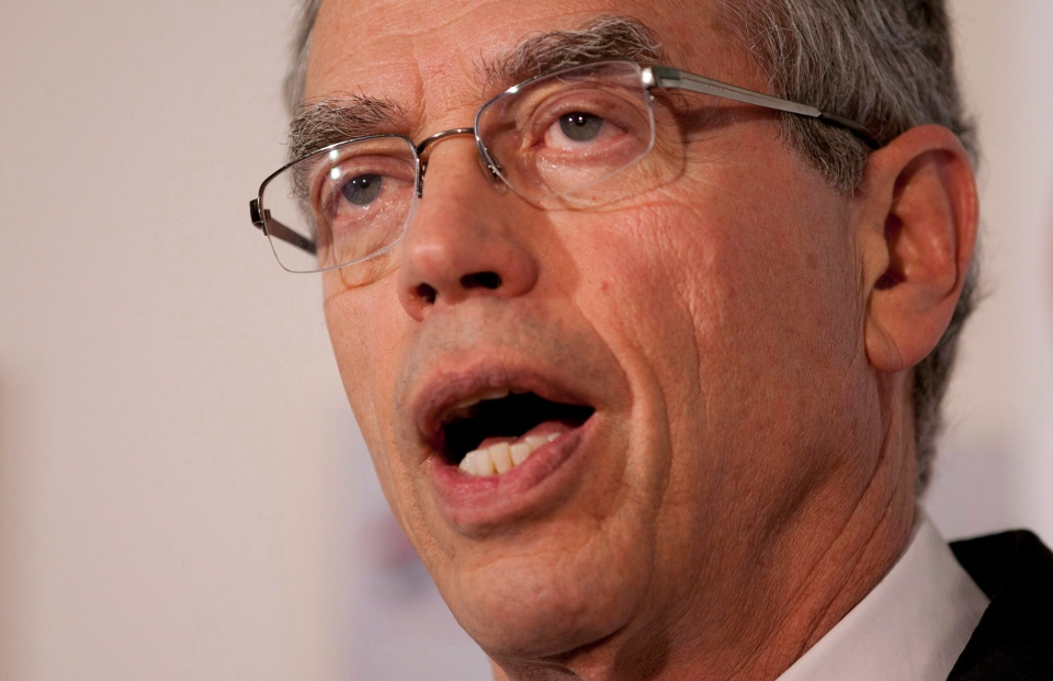 Federal Natural Resources Minister Joe Oliver toured the Irving Oil refinery Tuesday in a bid to build support behind a proposal to ship Alberta crude to Eastern Canada.
