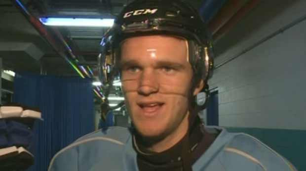 Saint John Sea Dogs forward Jonathan Huberdeau has been named alternate captain of the team.